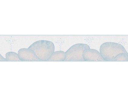 Papírová bordura na zeď Only borders 9 - Velryba, 13cmx5m, 3033-72