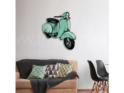 63910 scooter 3d samolepici dekorace