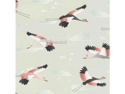 Vliesová tapeta na zeď Rasch 818116 - Ptáci, kolekce Kids & teens III 0,53 x 10,05 m