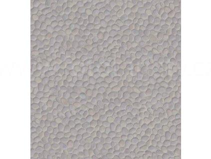 Dekorační obklad stěny - Šedobéžové oblázky