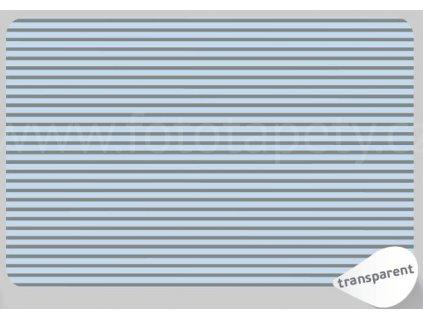 Prostírání na stůl - Pruhy šedé, 45x30cm