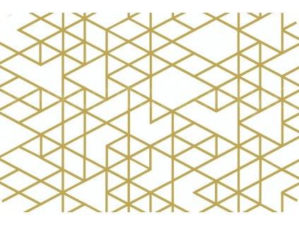 Prostírání na stůl - Eske - trojúhelníky, 44x29cm, 230-2541