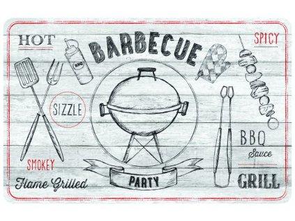 Prostírání na stůl - Barbecue světle šedé, 44x29cm, 230-2531