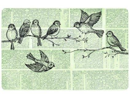 Prostírání na stůl - Ptáčci, 44x29cm, 230-2535