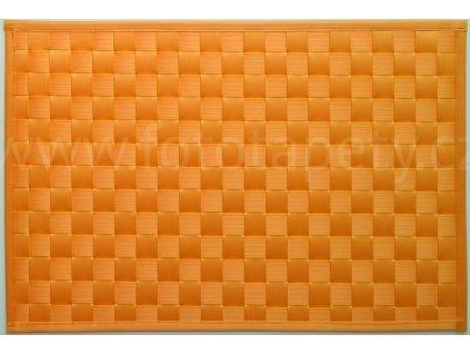 Prostírání na stůl - Lýko žlutooranžové, 43x30cm, 230-3102