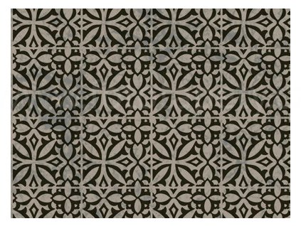 Samolepící dekorační fólie - Tmavé ornamenty Noa - kachličky