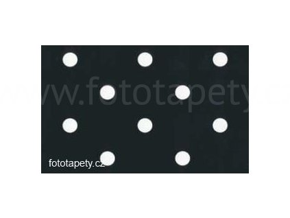 Samolepící fólie imitace Decor, Černé puntíky