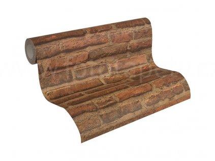 Vliesová tapeta na zeď Best of Wood & Stone 2, 0,53x10,05m, 3074-71 - cihlová zeď