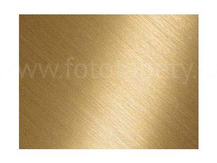 Samolepící kovově matná folie s prolisovaným povrchem - Zlatá