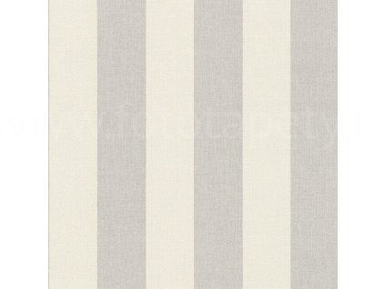 Vinylová tapeta na zeď Rasch - Šedé pruhy 424119, kolekce Poetry 0,53 x 10,05 m