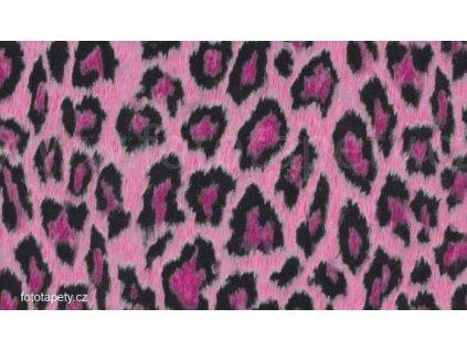Samolepící fólie decor, Růžový leopard