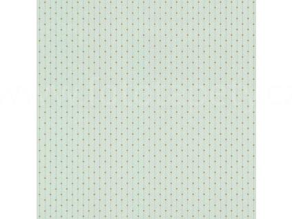 Vliesová tapeta na zeď Rasch 808537 - Zlaté puntíky, kolekce Denzo 0,53 x 10,05 m
