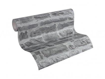 Vliesová tapeta na zeď Best of Wood & Stone 2, 0,53x10,05m, 3194-42 - kamenná zeď
