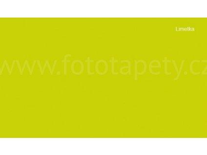 Samolepící tapeta jednobarevná lesklá - Limetka