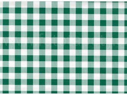 Samolepící fólie imitace Decor, Kostkovaný ubrus zelený