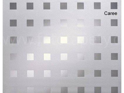 Folie 1-2-3-static, bez lepidla, vzor Caree, drží statickou silou, mnohonásobné použití