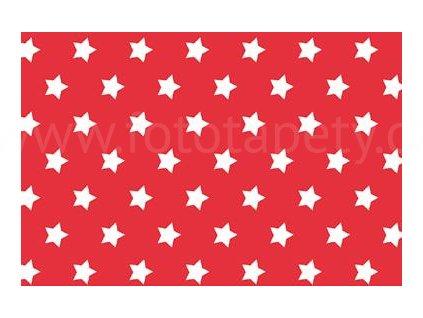 Samolepící fólie imitace Decor, Červené hvězdy