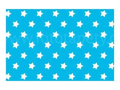 Samolepící fólie imitace Decor, Modré hvězdy