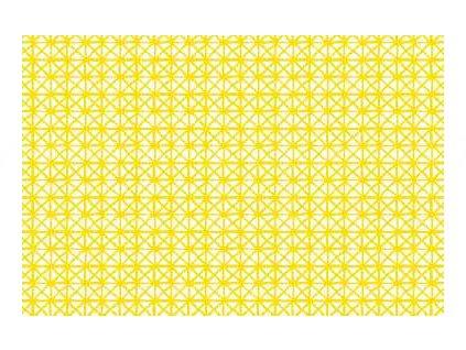 Samolepící fólie imitace Decor, Andy - žlutá