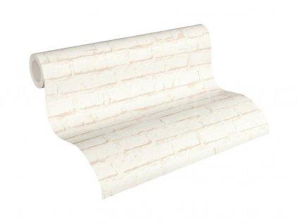 Vliesová tapeta na zeď Best of Wood & Stone 2, 0,53x10,05m, 3439-91 - cihlová zeď