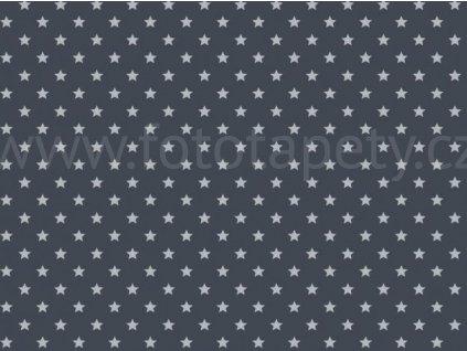 Samolepící tapeta d-c-fix Decor - Šedé hvězdy, 346-0653