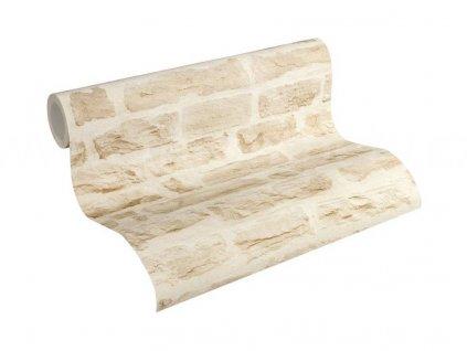 Vliesová tapeta na zeď Best of Wood & Stone 2, 0,53x10,05m, 3558-02 - kamenná zeď
