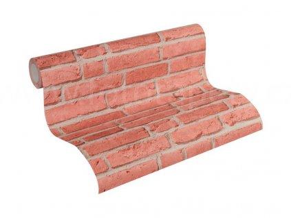 Vliesová tapeta na zeď Best of Wood & Stone 2, 0,53x10,05m, 3558-11 - cihlová stěna