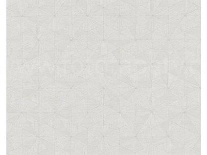 Vliesová tapeta Four Seasons, 0,53x10,05m, 3589-55- béžovo krémová geometrie