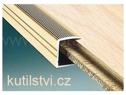Zakončovací profil pro laminátové podlahy 28x8,6mm, doprodej (Varianta Zakončovací profil 28x8,60mm, 270cm, bronz)