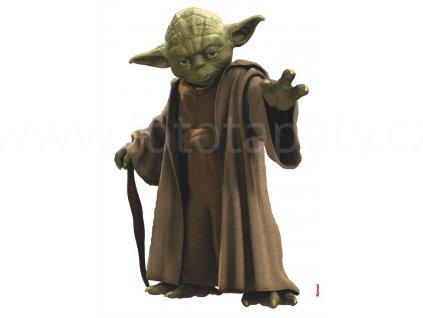 Samolepky na zeď Star Wars - Yoda, 70x100cm