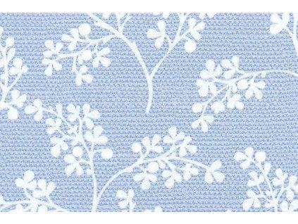 Samolepící fólie imitace Decor, Modré květy