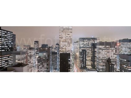 Fototapeta čtyřdílná New York - Midtown Manhattan, 368x127cm, 4D 4-258