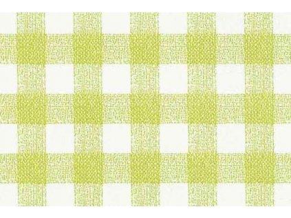 Samolepící fólie imitace Decor, Zeleno bílé kostky