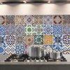 Samolepka do kuchyně - Azulejos (47x65cm)