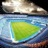 Samolepící fototapeta na podlahu - Fotbalový stadion, 170x170cm, 034