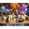 Dětská 3D fototapeta Cirkus rozměr 244 x 305 cm