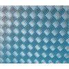 Samolepící kovově lesklá folie s plastickým raženým povrchem, Metallic Riffelblech