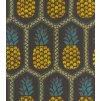 Vliesová tapeta na zeď Rasch 862140 - Černé ananasy, kolekce b.b home passion VI 0,53 x 10,05 m