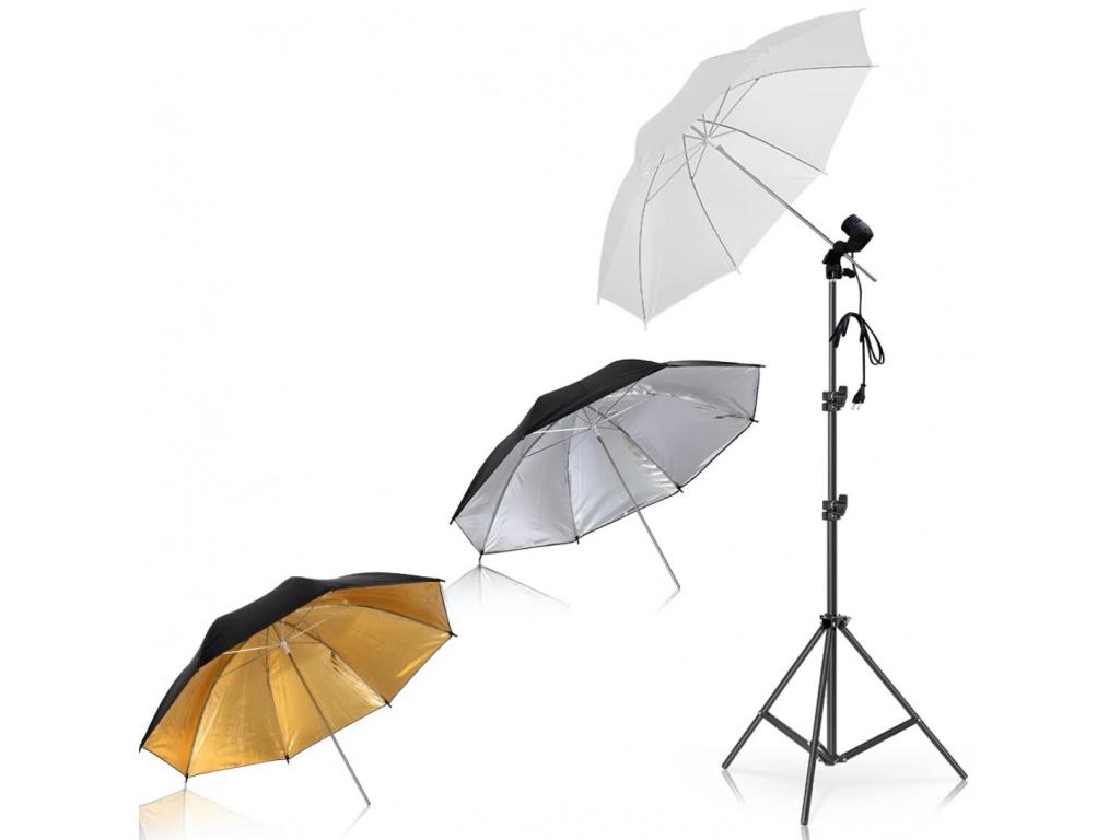 Foto Deštník Polopropustný Reflexní 2 druhy