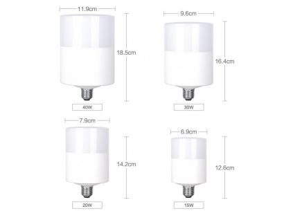Výkonná LED Žárovka E27 40W 4000lm(!)