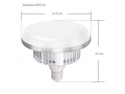 LED Lampa Žárovka 85W (4500 lm), 3200 - 6400 K + Ovladač