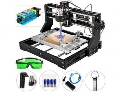 CNC Gravírka 3018 PRO Laserový - Frézovací Gravírovací Stroj Plotr