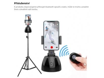 360° Stolní automatický self trackovací Gimbal Stativ Stabilizátor Video Vlog