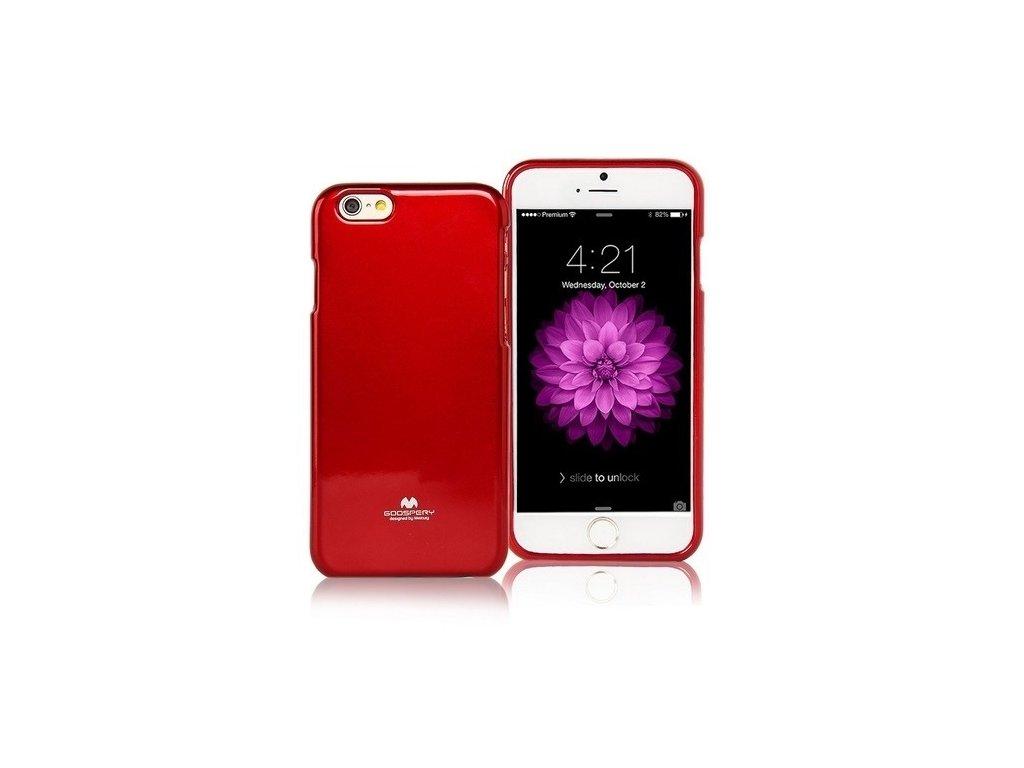JELLY Silikonové pouzdro pro iPhone 5S a SE lesklé červené - founi.cz 1d516d06d70