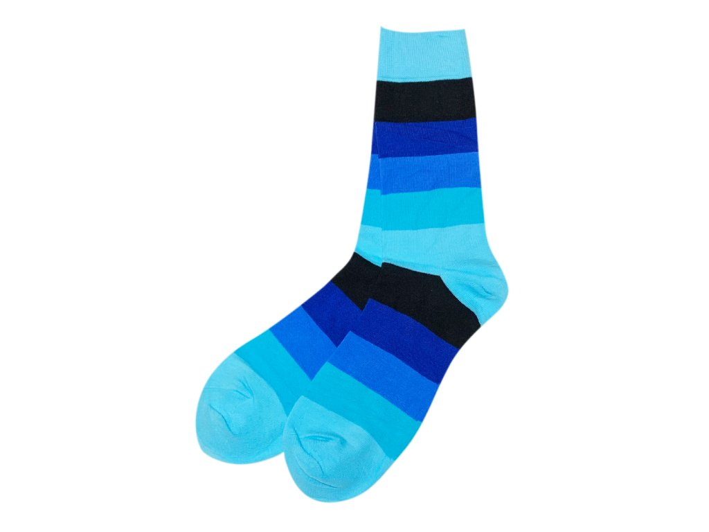 Four Seasons ponožky Pruhy modré