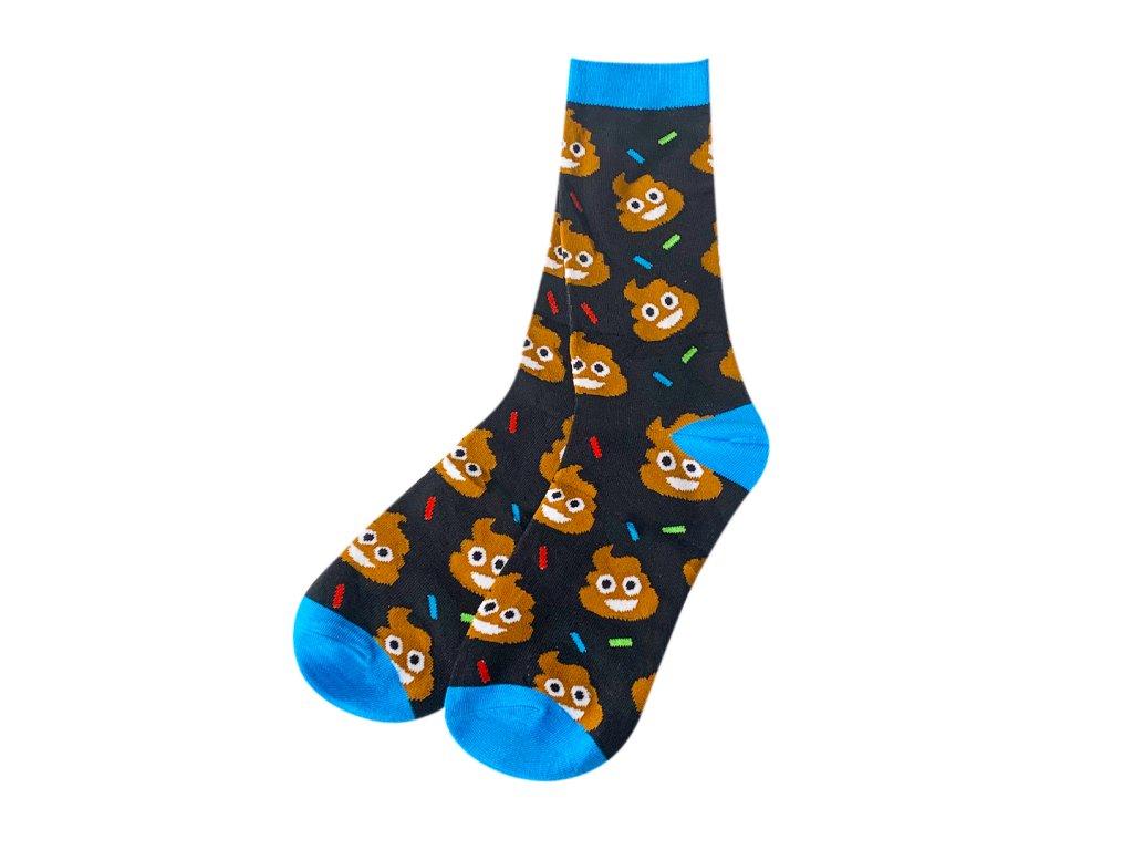 Four Seasons ponožky Hovínko