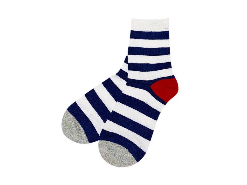 Four Seasons ponožky Námořnické pruhy