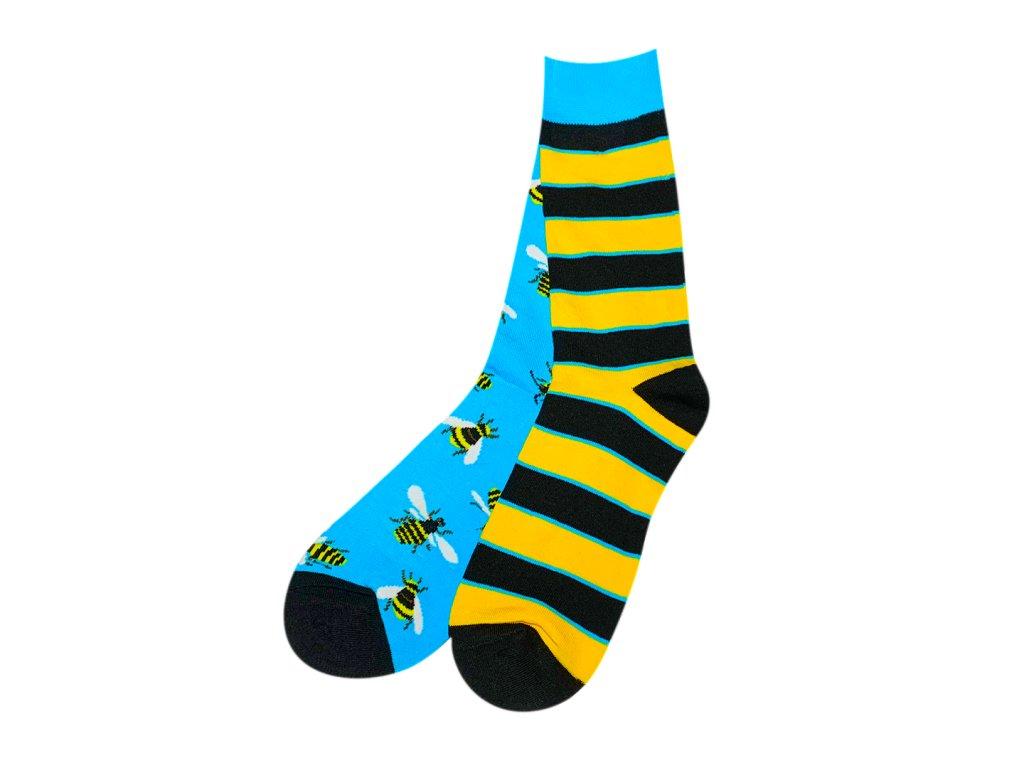 Four Seasons veselé ponožky Včela