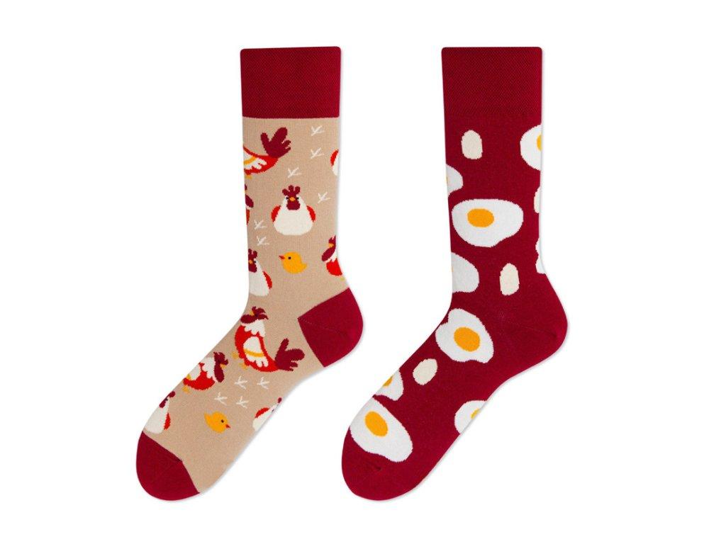 Four Seasons veselé ponožky Vajíčko na slepice