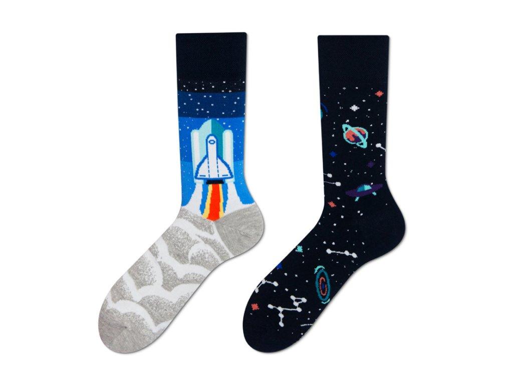 Four Seasons veselé ponožky Vesmír